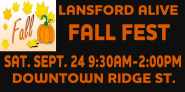 9-24-2016, Fall Fest, via Lansford Alive, Downtown, Ridge Street, Lansford