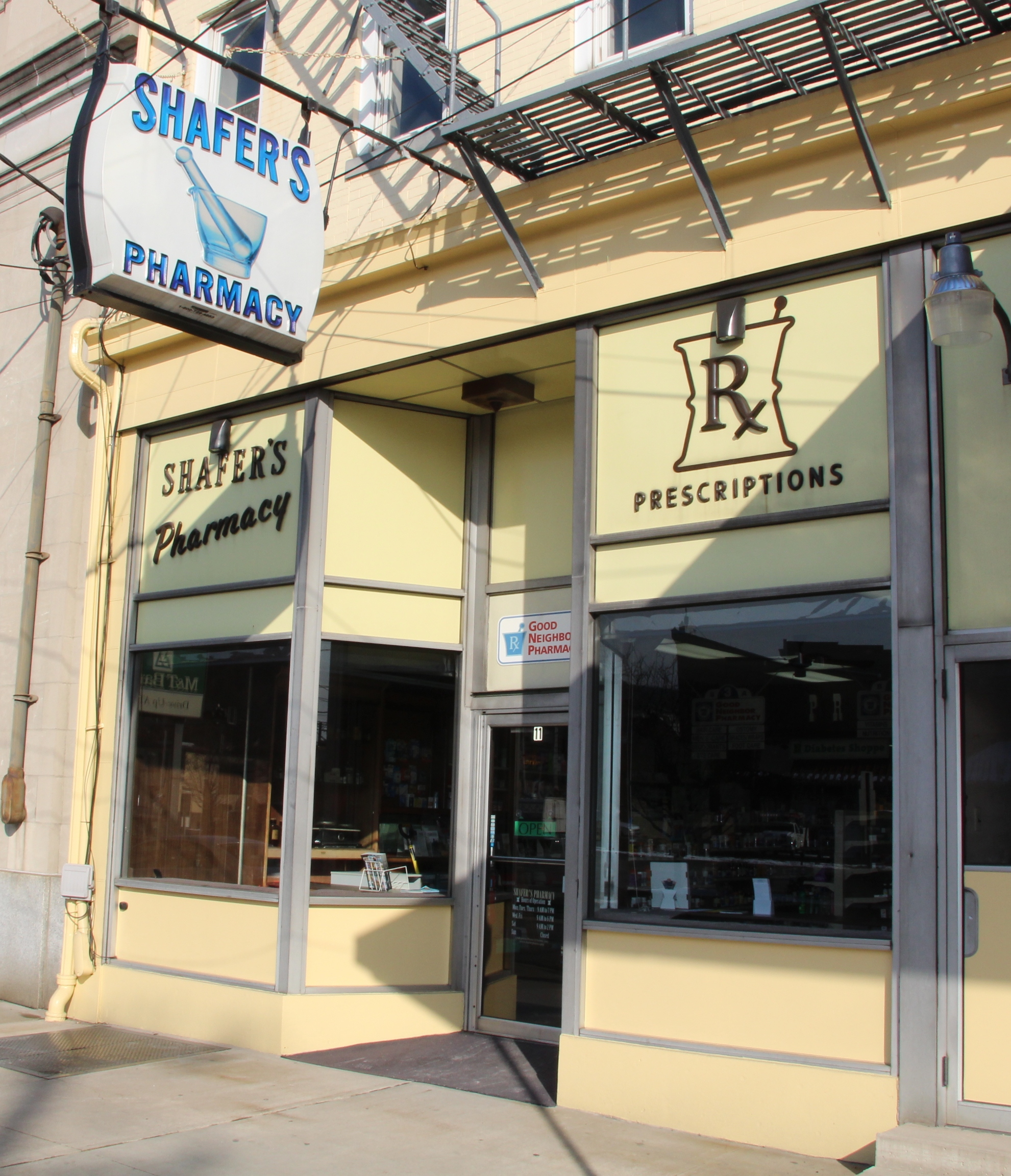 BUSINESS OF THE DAY: Shafer's Pharmacy