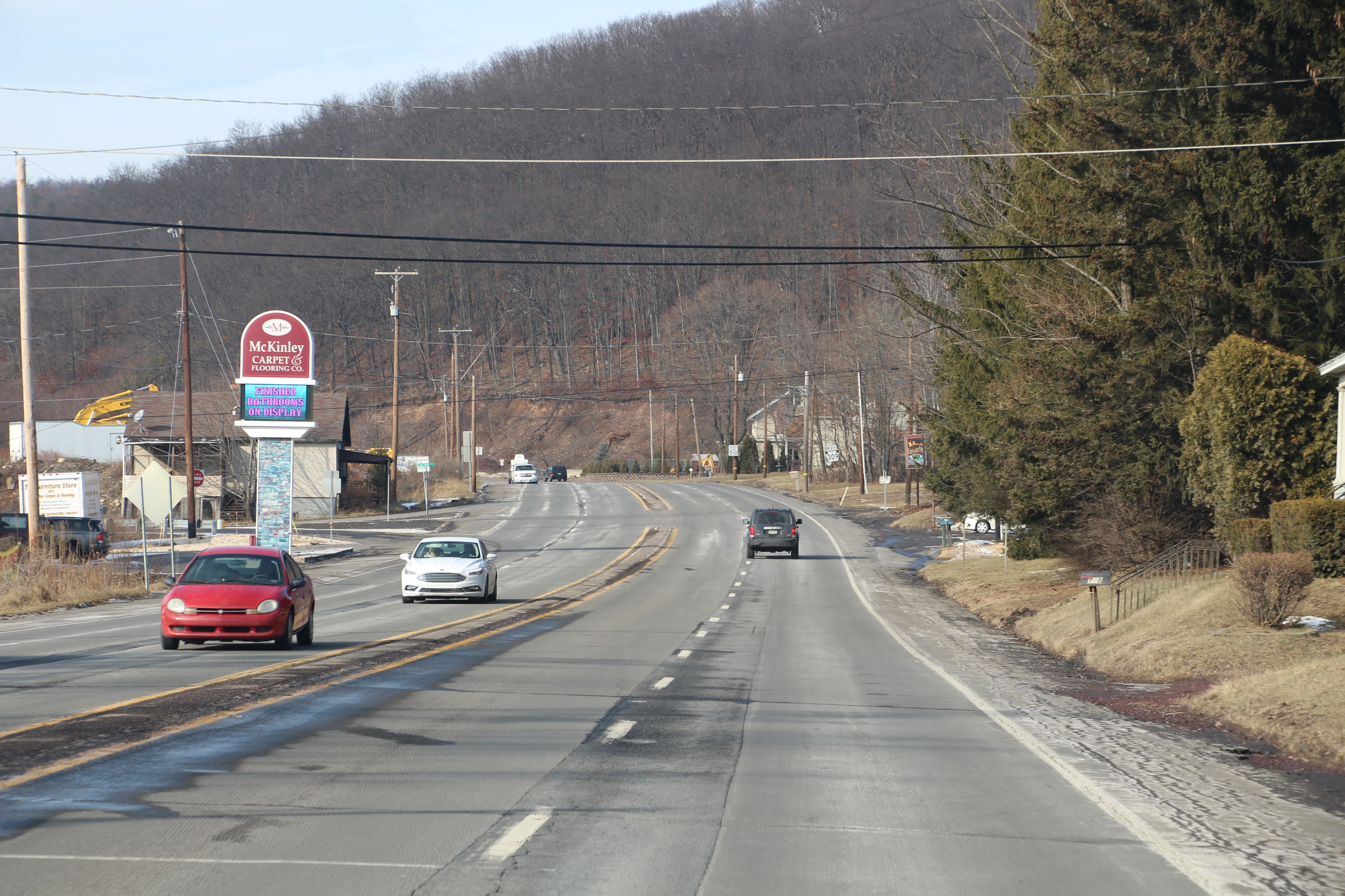 RANDOM PHOTO: SR309 in Ginthers, Rush Township