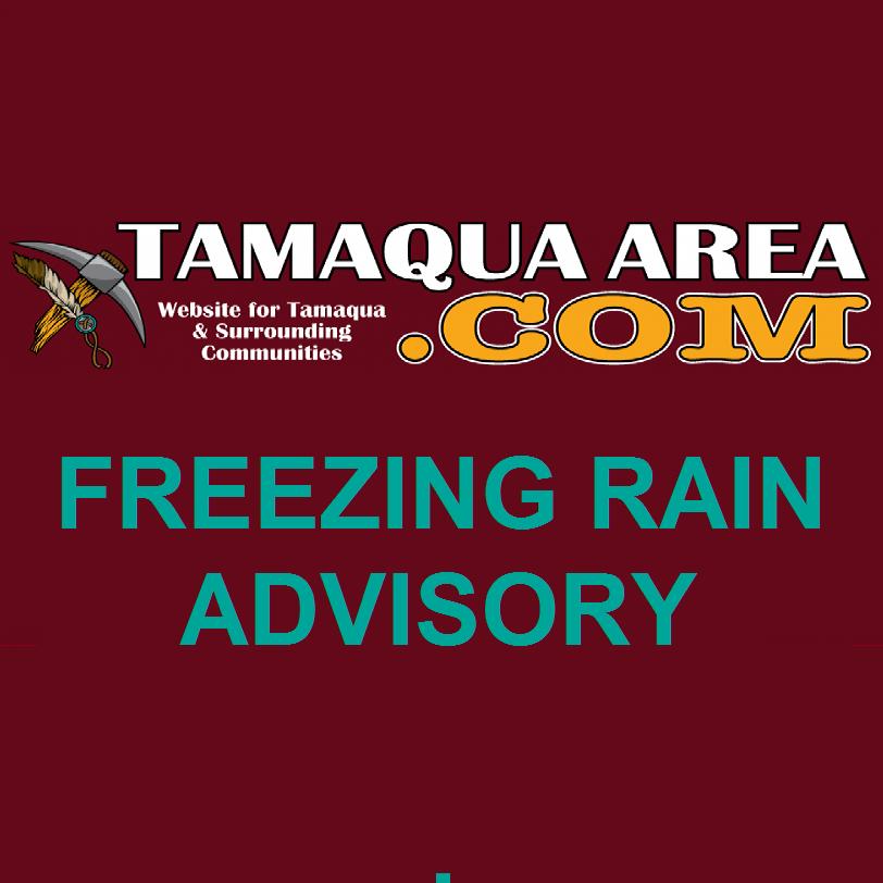 Freezing rain advisory for late tonight