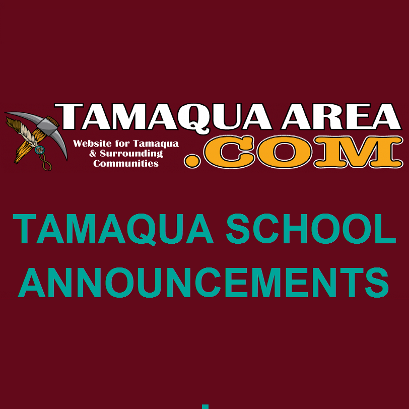Tamaqua School District sports announcements