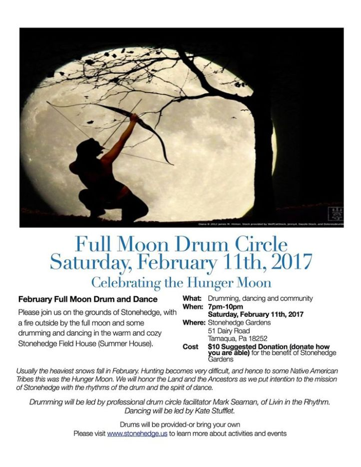 2-11-2017-full-moon-drum-circle-at-stonehedge-gardens-south-tamaqua