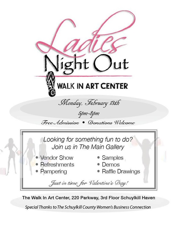 2-13-2017-ladies-night-out-walk-in-art-center-schuylkill-haven