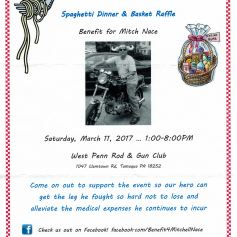 3-11-2017-all-you-can-eat-spaghetti-dinner-basket-raffle-for-mitch-nace-at-west-penn-rod-gun-club-west-penn