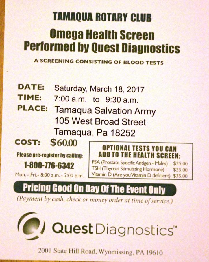 3-18-2017-omega-health-screen-at-tamaqua-salvation-army-tamaqua