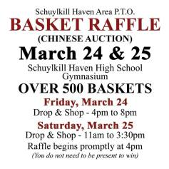 3-24-25-2017-basket-raffle-chinese-auction-for-sha-pto-gynasium-high-school-schuylkill-haven