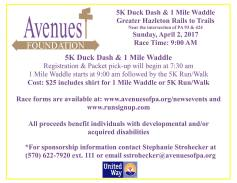 4-2-2017-5k-duck-dash-1-mile-waddle-at-greater-hazleton-rails-to-trails-hazleton