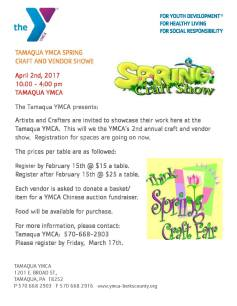 4-2-2017-spring-craft-and-vendor-show-at-tamaqua-ymca-tamaqua