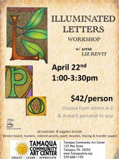 4-22-2017-illuminated-letters-workshop-at-tamaqua-community-art-center-tamaqua