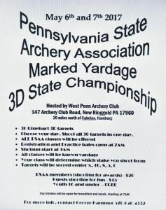 5-6-7-2017-pa-state-archery-marked-yardage-3d-state-championship-wp-archery-club-west-penn