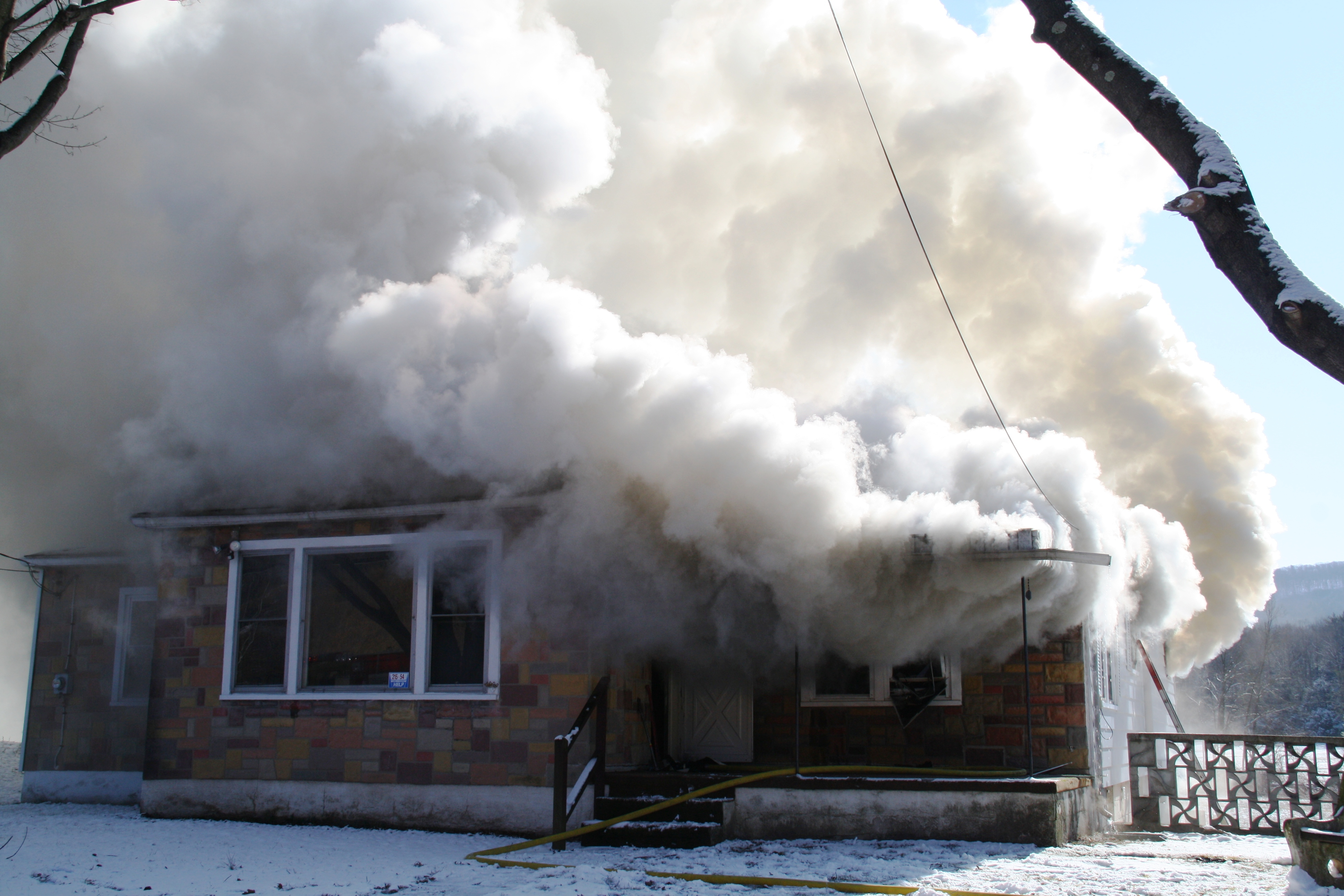 FIVE YEARS AGO: House fire on Summer Valley Road