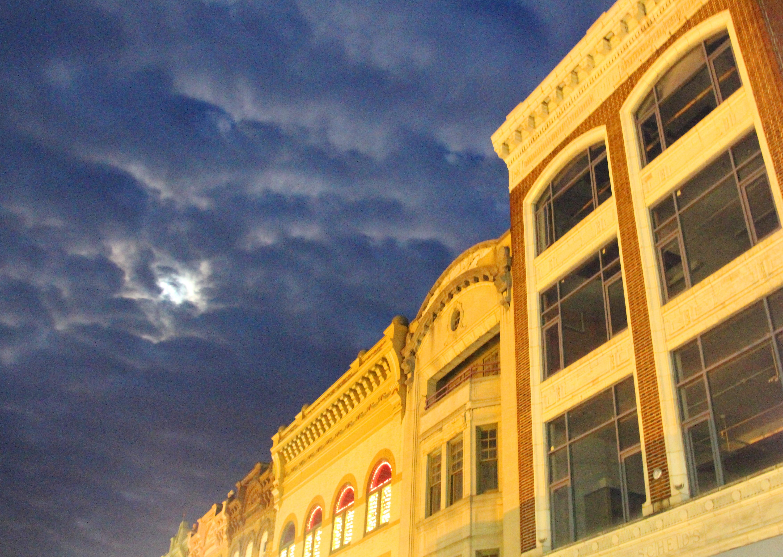 RANDOM PHOTO: Blue evening sky