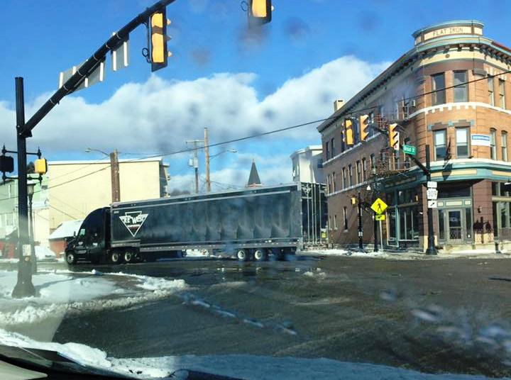 Another wrong-way tractor-trailer driver