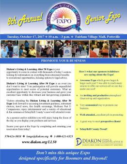10-17-2017, Senior Expo, via Diakon, at Fairlane Village Mall, Pottsville