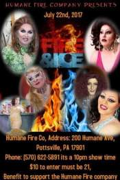 7-22-2017, Fire and Ice, Humane Fire Company, Pottsville