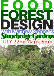 7-22-2017, Food Forest Design, at Stonehedge Gardens, South Tamaqua