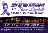 7-22-2017, Out Of The Darkness Into The Light Candlelight Walk, Bungalow Park to East End, Tamaqua (2)