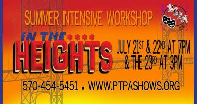 7-22, 23-2017, In The Heights, PTPA, Hazleton