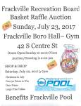 7-23-2017, Basket Raffle Auction, Frackville Borough Hall Gym, Frackville