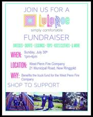 7-30-2017, Lularoe Fundraiser, for, at West Penn Fire Company, West Penn
