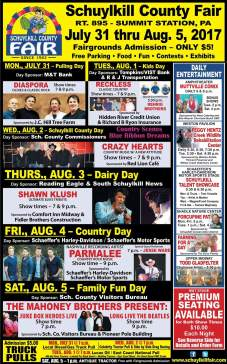 7-31 to 8-5-2017, Schuylkill County Fair, Summit Station