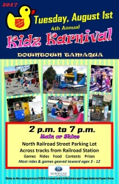 8-1-2017, Tamaqua Salvation Army Kidz Karnival, Railroad Station Parking Lot, North Railroad Street, Tamaqua (2)