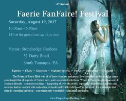 8-19-2017, Faerie FanFaire Festival, at Stonehedge Gardens, South Tamaqua