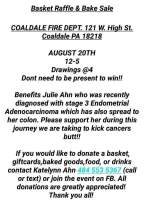8-20-2017, Basket Raffle and Bake Sale, at Coaldale Fire Company, Coaldale