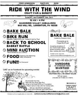 9-10-2017, Bike Run, and Ride With The Wind Craft Fair and Benefit, at Mahoning Valley Ambulance, Lehighton (2)