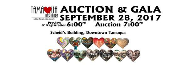 9-28-2017, Tamaqua Has Heart Auction and Gala, Scheid's Building, Tamaqua