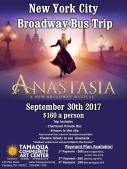 9-30-2017, New York City Broadway Bus Trip, via Tamaqua Community Arts Center, Tamaqua